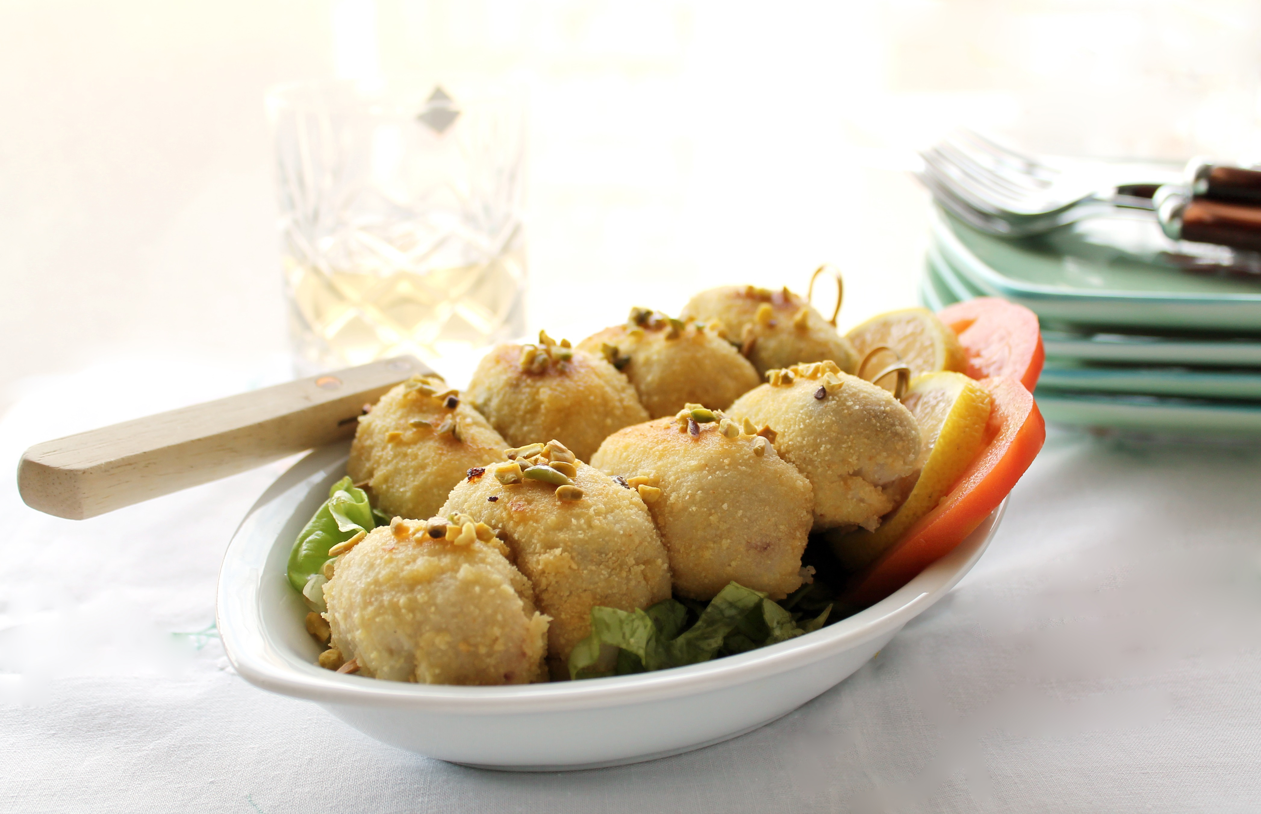 Involtini di pesce spada senza glutine - La Cassata Celiaca