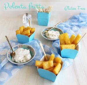 Polenta fritta senza glutine - La Cassata Celiaca
