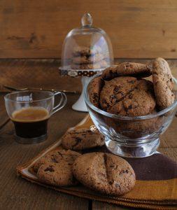 Biscuits grains de café sans gluten - La Cassata Celiaca