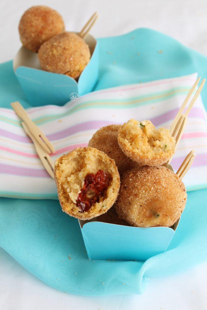 Polpettine di lenticchie senza glutine - La Cassata Celiaca