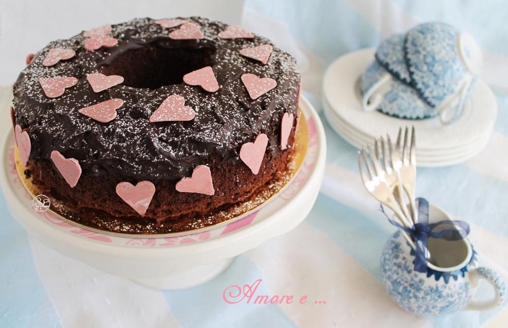 Chiffon cake au chocolat sans gluten - La Cassata