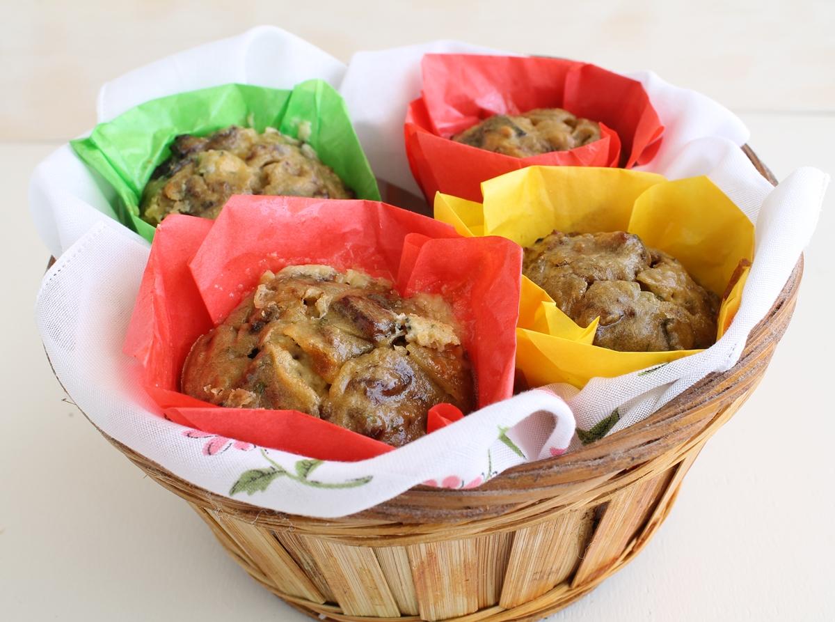 Frittatina con melanzana e gorgonzola - La Cassata Celiaca