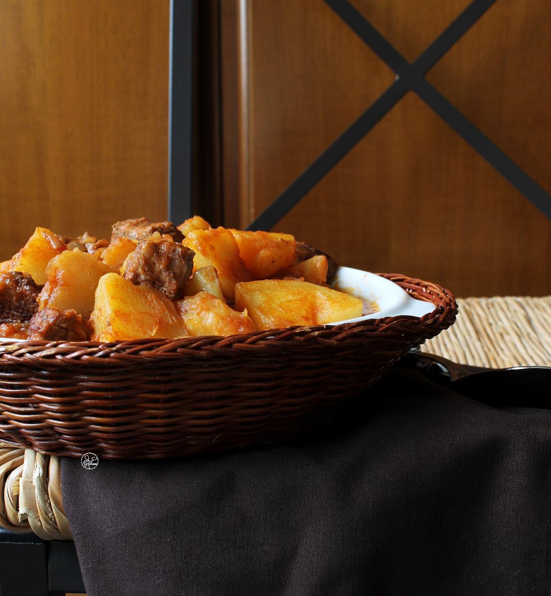 Gulasch sans gluten - La Cassata Celiaca