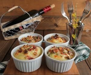 Pasticcio di cavolfiore senza glutine- La Cassata Celiaca