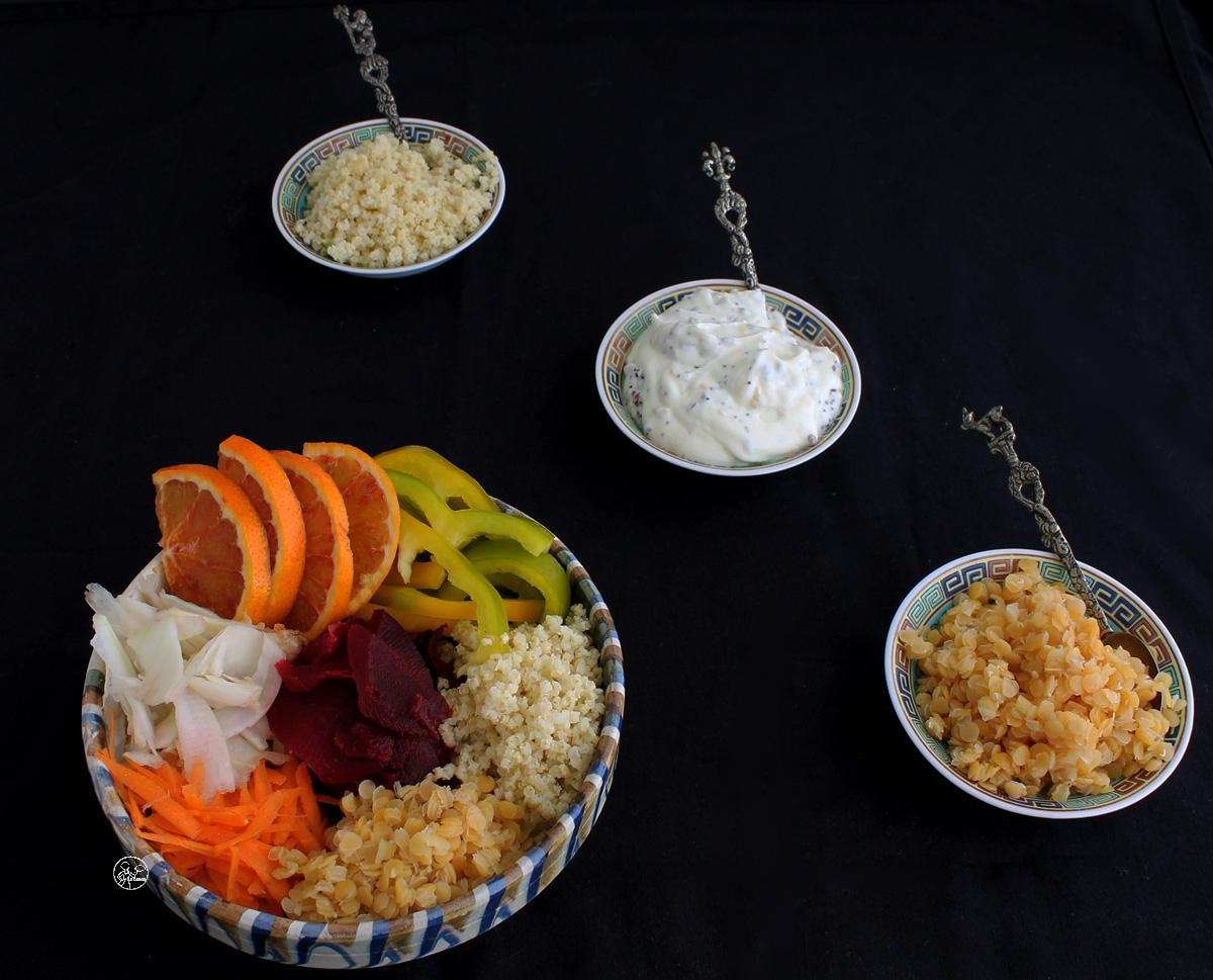 Buddha bowl sans gluten - La Cassata
