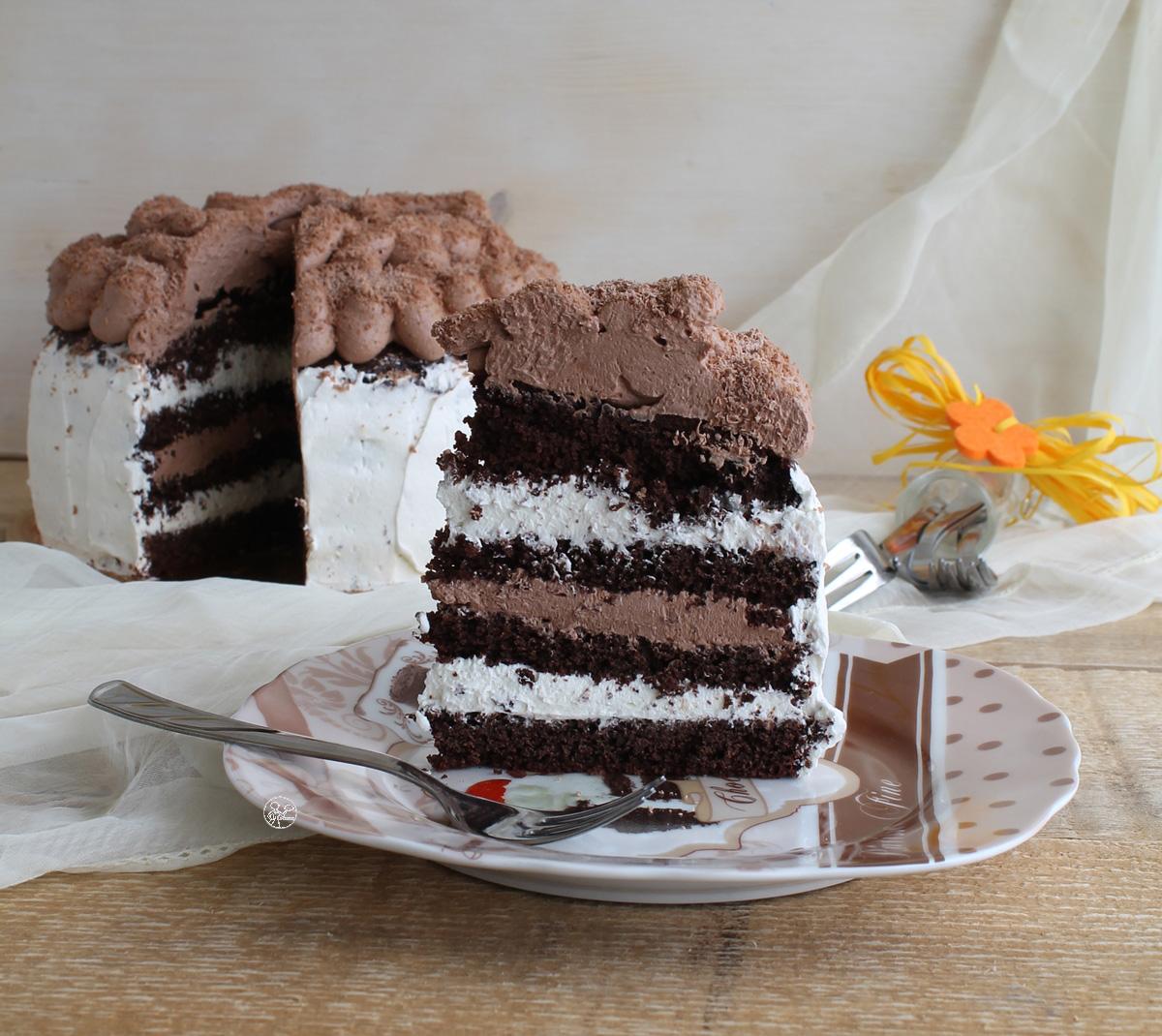 Chocolate cake aux deux chocolats sans gluten - La Cassata