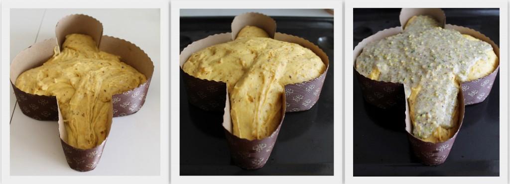 Colomba al pistacchio senza glutine- La Cassata Celiaca