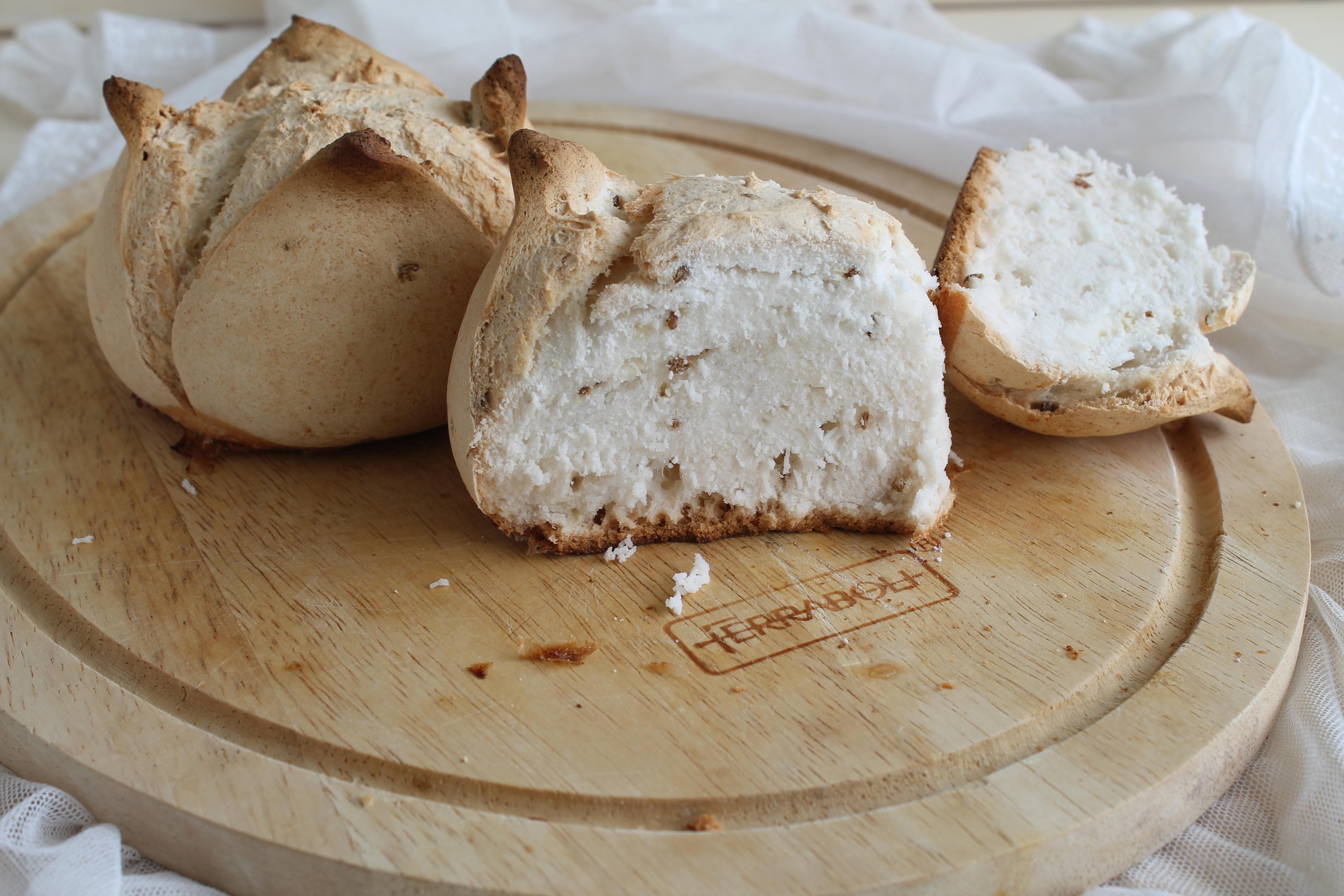 Petits pains aux grains de fenouil sans gluten - La Cassata