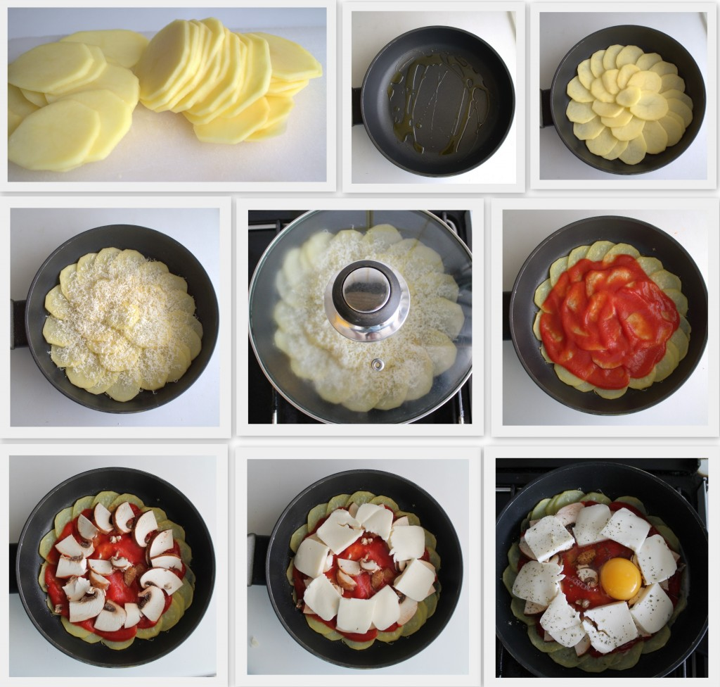 Pizza di patate senza glutine - La Cassata Celiaca