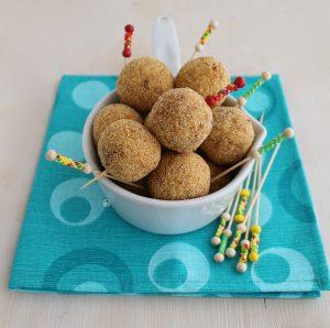Arancines de pommes de terre et bacon sans gluten- La Cassata Celiaca