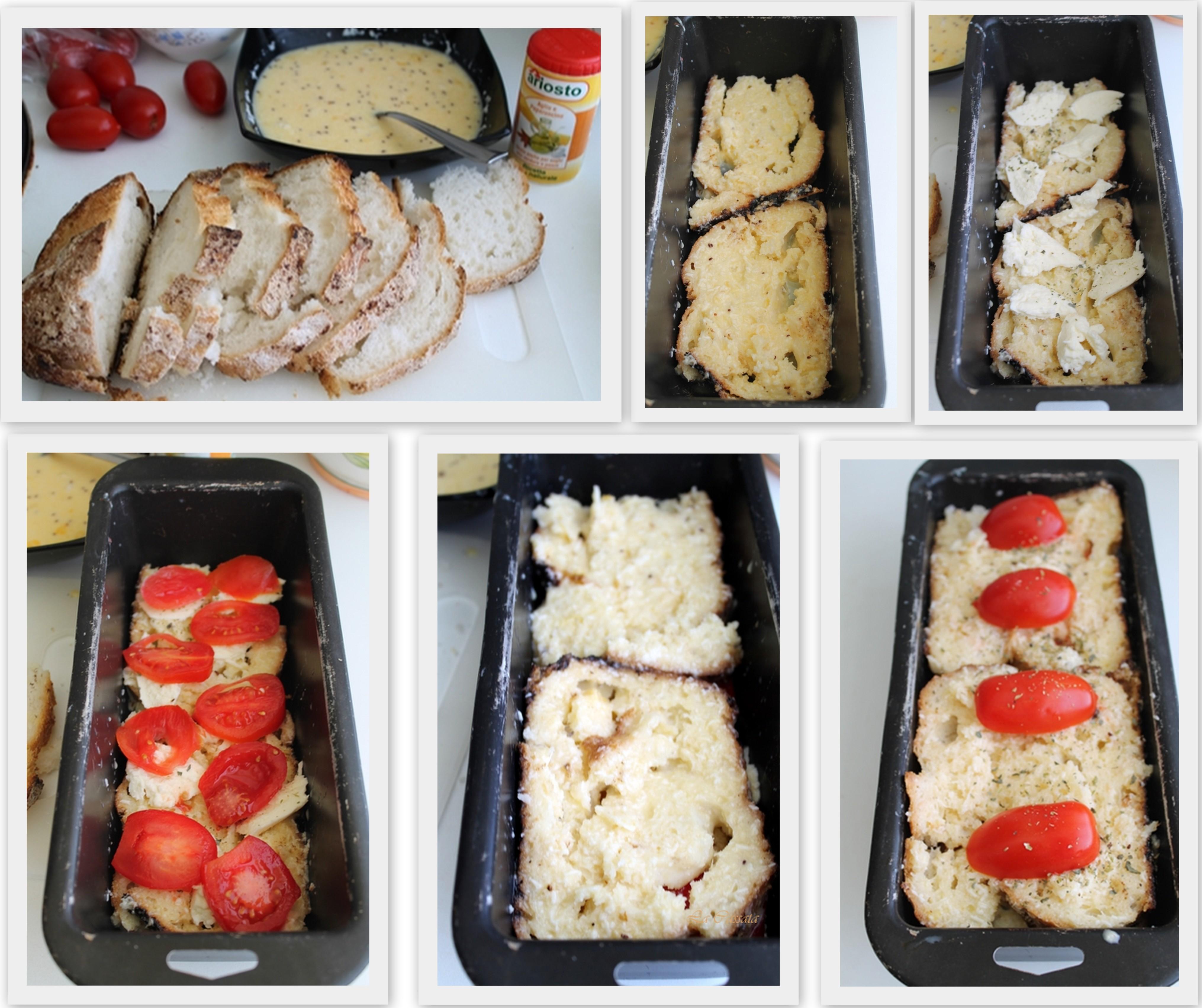 Cake de pain rassis sans gluten- La Cassata