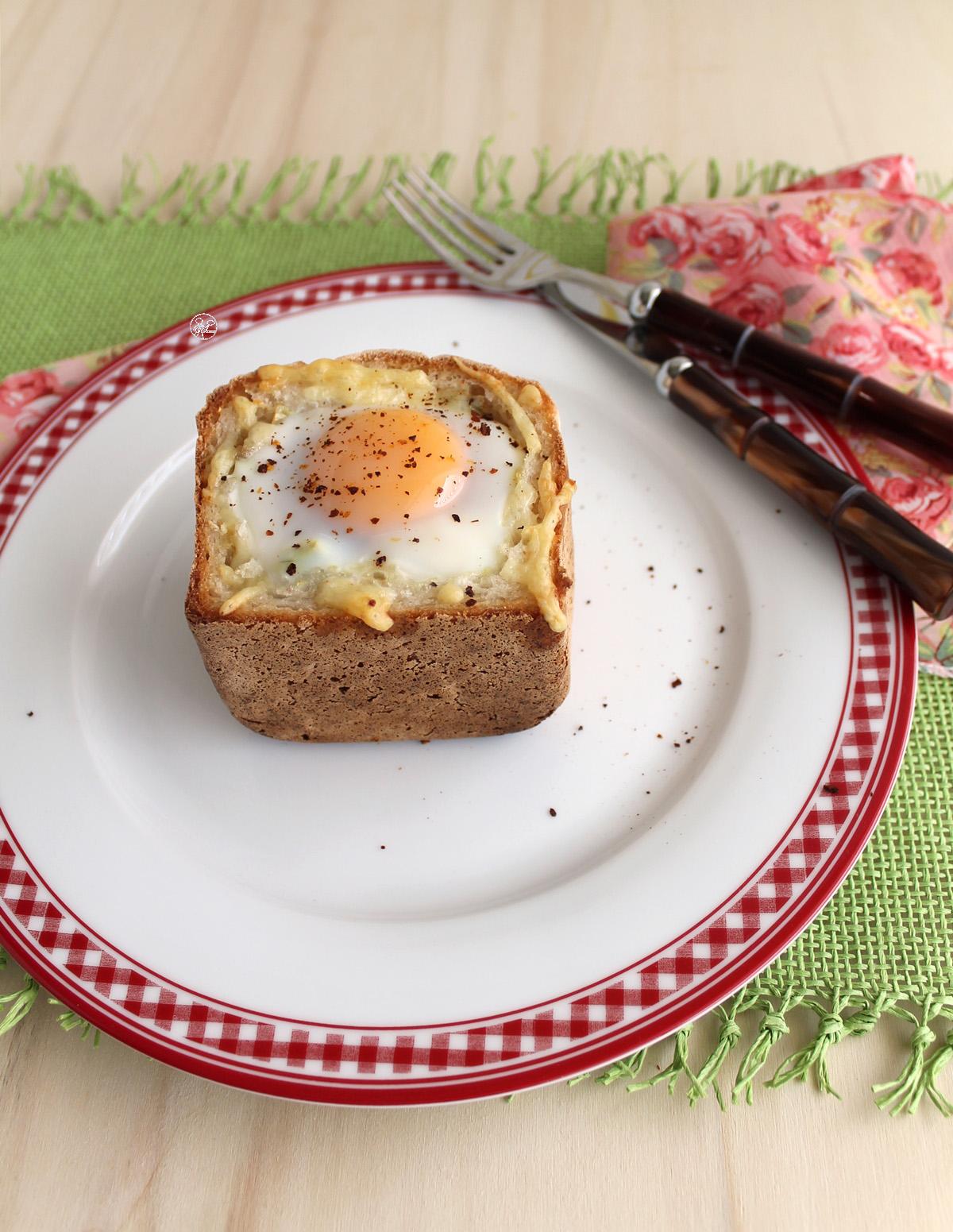 Cestino di pane con carciofi senza glutine - La Cassata Celiaca