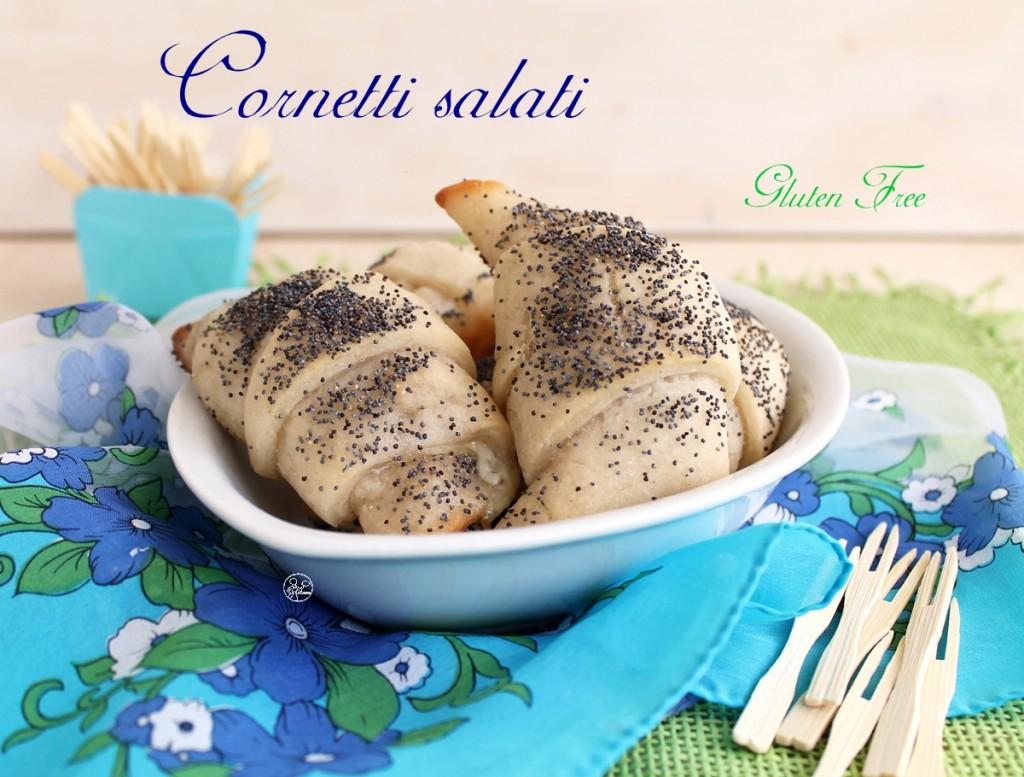 Cornetti salati senza glutine - La Cassata Celiaca