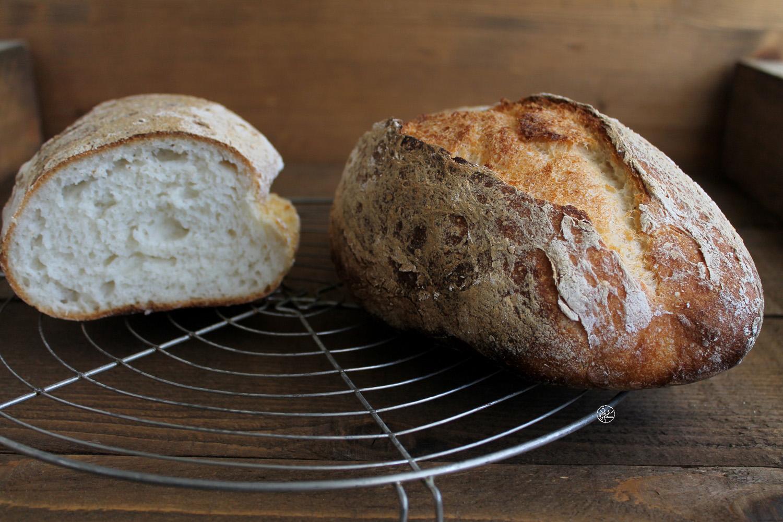 Baguettes de pain rustique sans gluten - La Cassata Celiaca