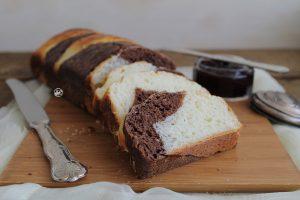 Panbrioche bicolore senza glutine - La Cassata Celiaca