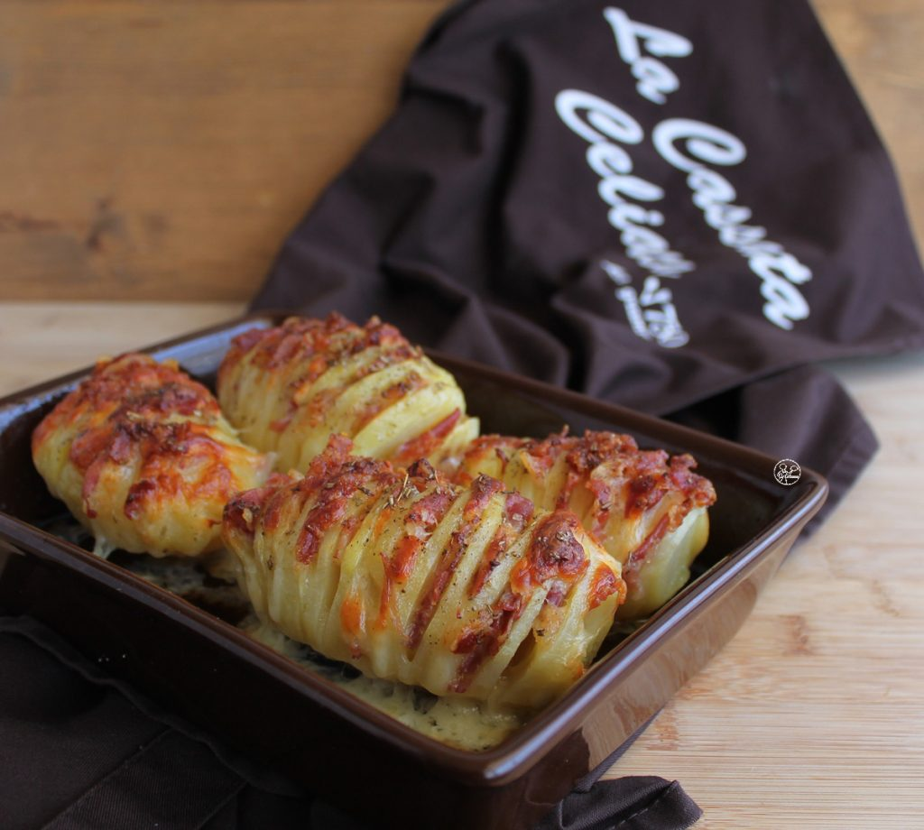 Patate Hasselback farcite, la video ricetta - La Cassata Celiaca