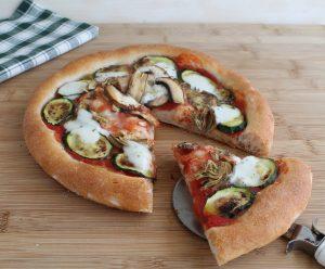 Pizza végétarienne sans gluten- La Cassata Celiaca
