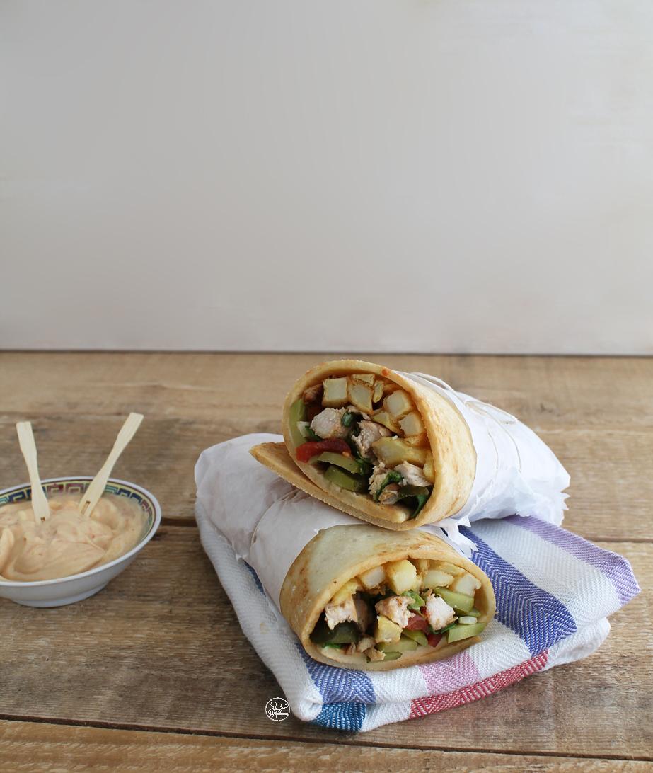 Shawerma sans gluten - La Cassata