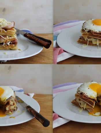 Waffel con porchetta senza glutine - La Cassata Celiaca