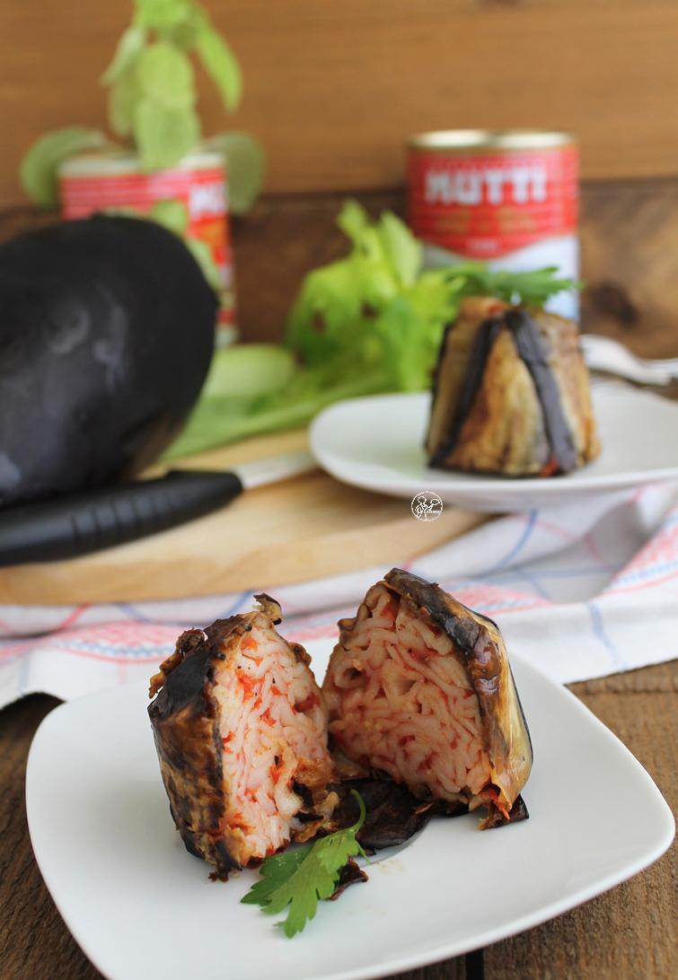 Timballo di melanzane e tagliatelle senza glutine - La Cassata Celiaca