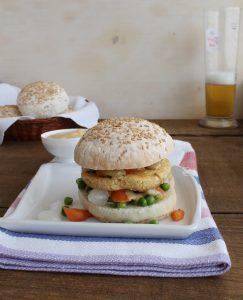 Vegan burger senza glutine - La Cassata Celiaca