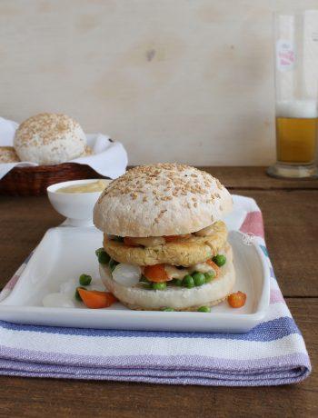 Vegan burger sans gluten - La Cassata Celiaca