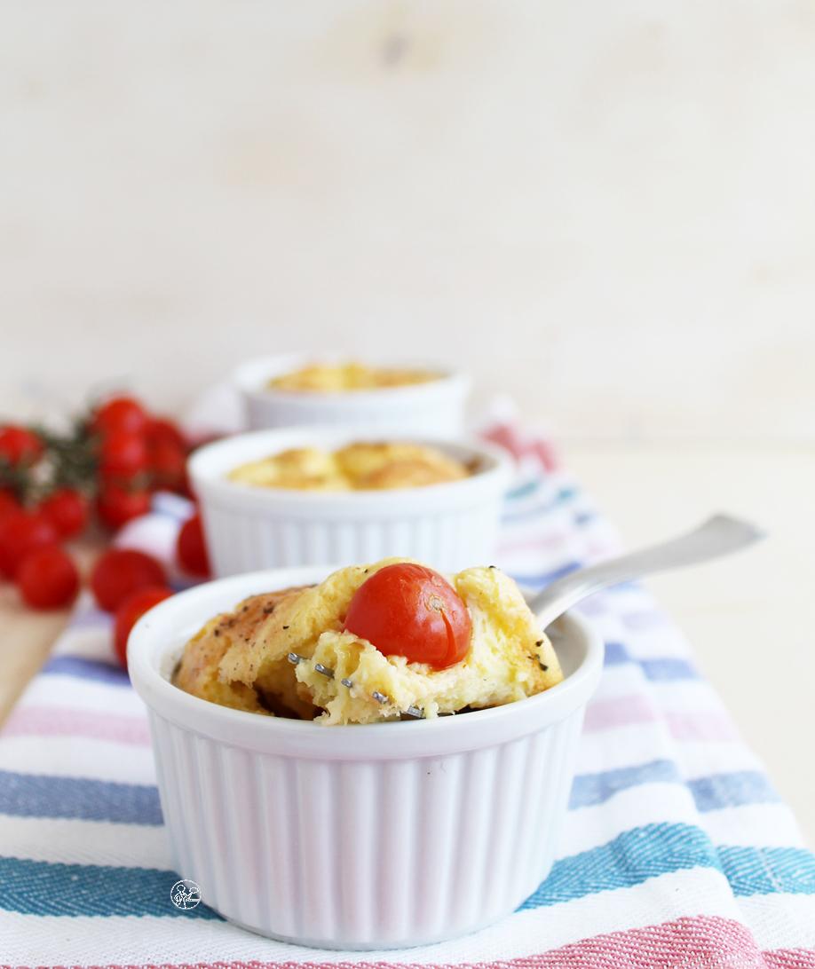 Clafoutis ai pomodorini senza glutine - La Cassata Celiaca