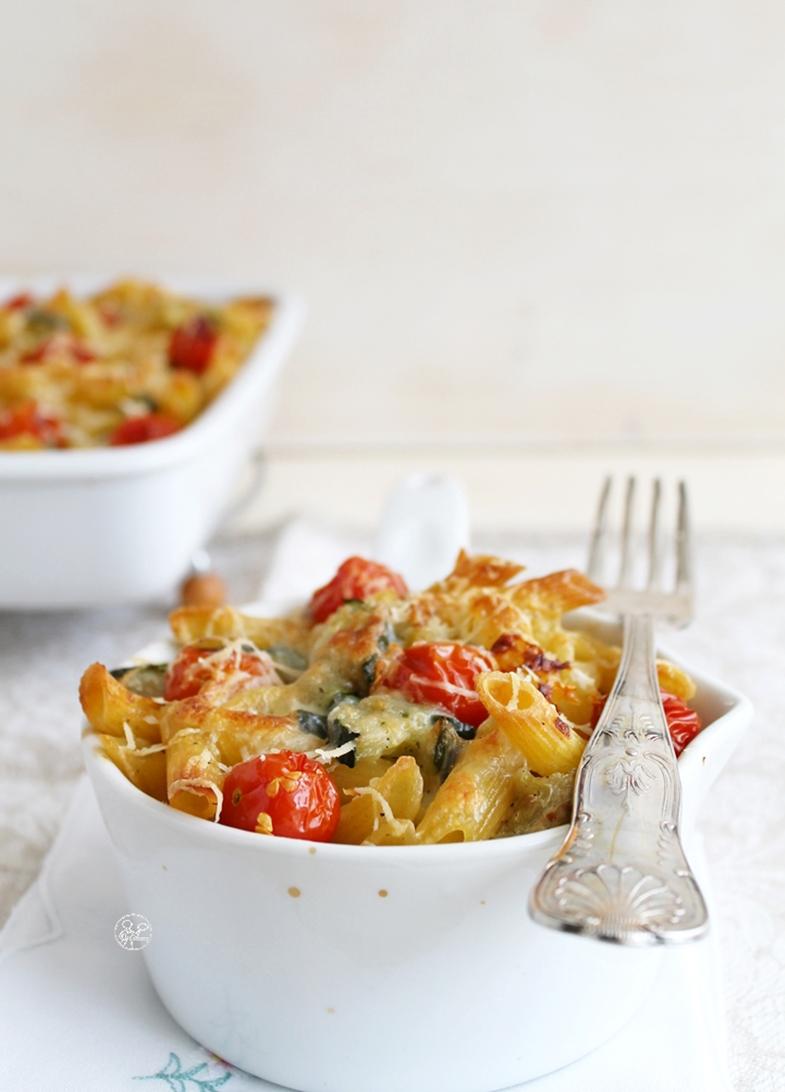 Gratin di pasta e zucchine senza glutine - La Cassata Celiaca