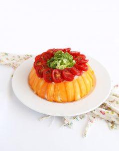 Salad cake sans gluten - La Cassata Celiaca