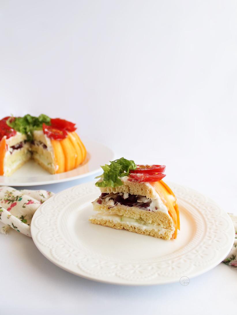 Salad cake sans gluten - La Cassata