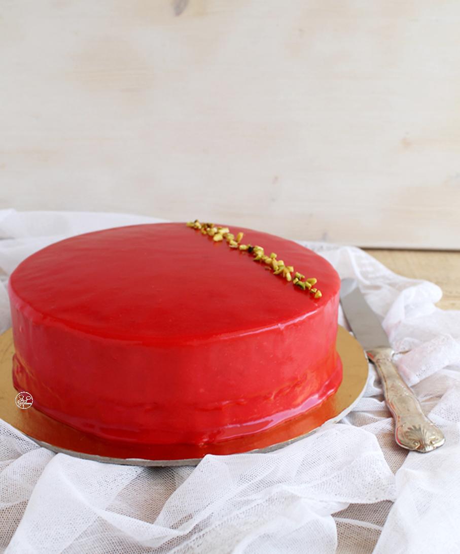 Gâteau choco-pistache sans gluten - La Cassata Celiaca