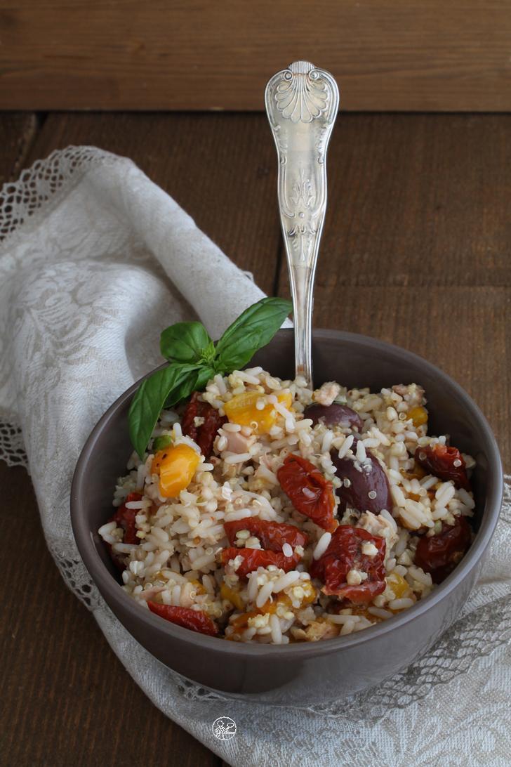 Insalata muti cereali con verdure - La Cassata Celiaca