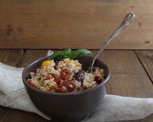 Insalata multi cereali con verdure - La Cassata Celiaca