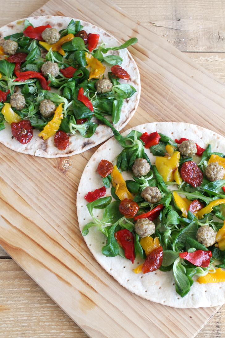 Wrap con verdure e polpette - La Cassata Celiaca