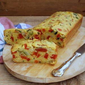 Cake salé sans gluten ni lactose - La Cassata Celiaca