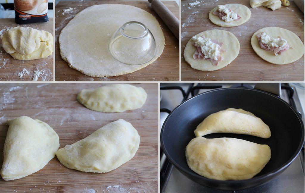 Calzoncini di patate senza glutine - La Cassata Celiaca