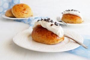 Maritozzi con la panna senza glutine - La Cassata Celiaca