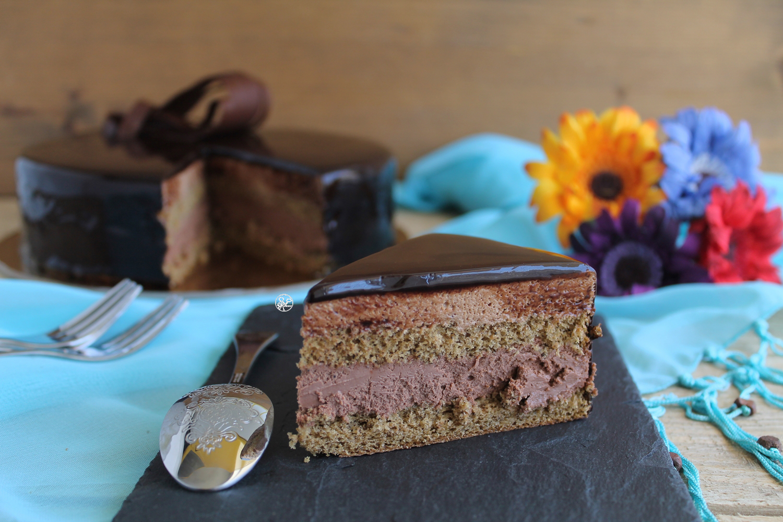 Torta caffemousse senza glutine, la video ricetta - La Cassata Celiaca