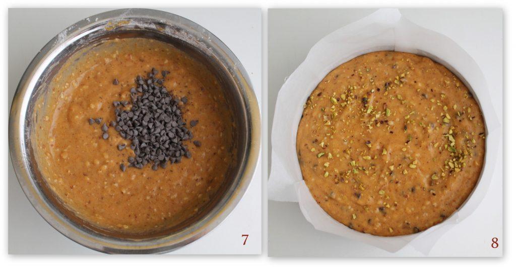 Torta di cachi senza glutine e senza lattosio - La Cassata Celiaca