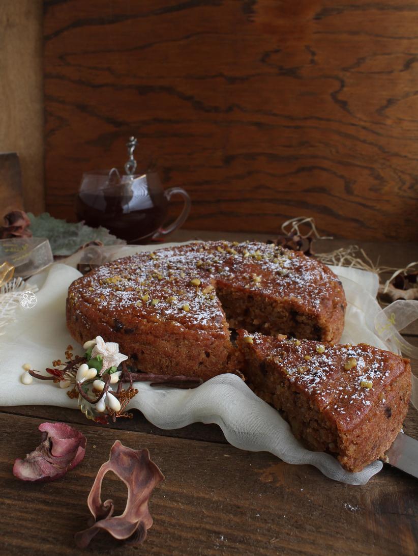 Gâteau au kaki sans gluten, sans lactose - La Cassata Celiaca