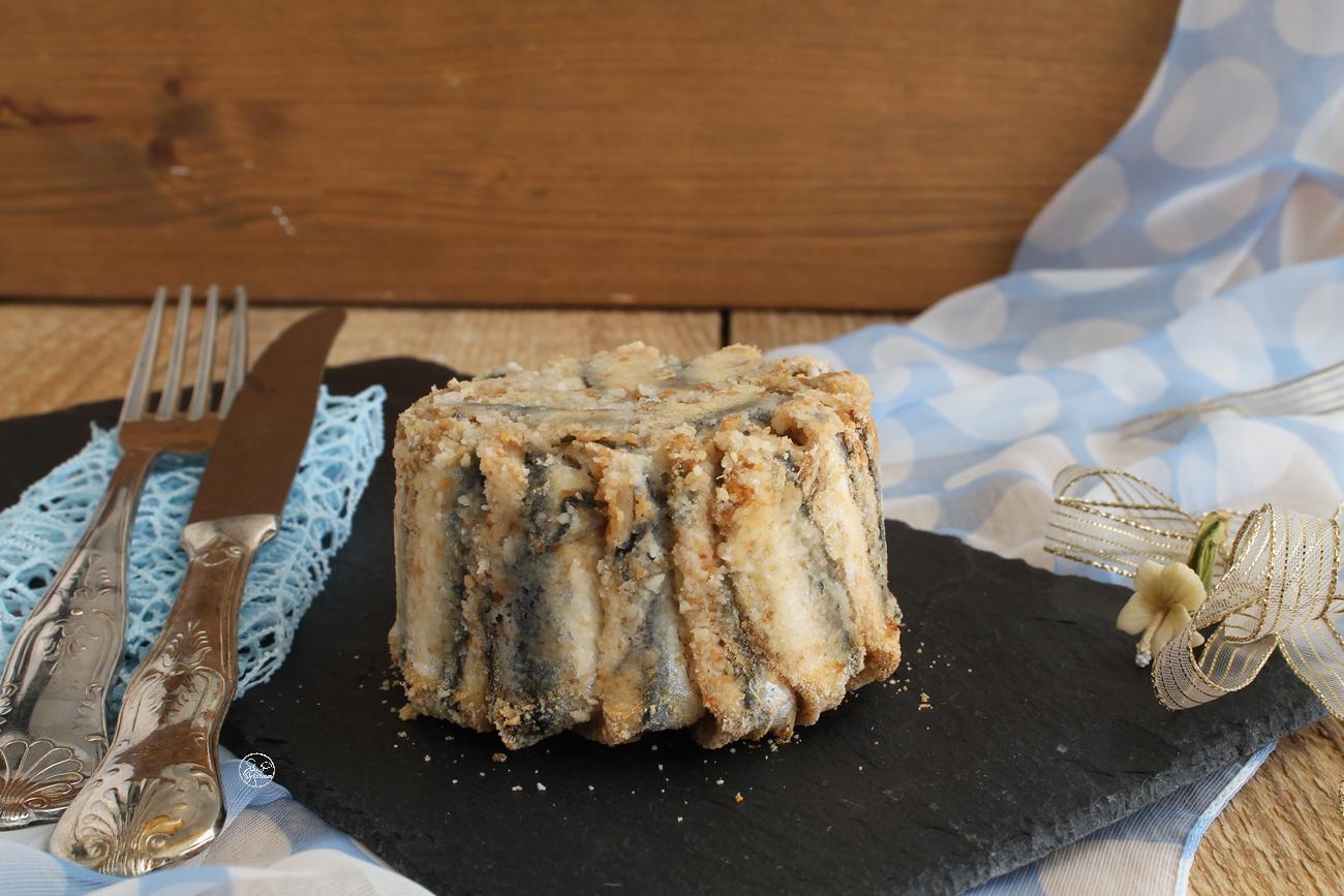 Tortino di alici, cereali e zucchine - La Cassata Celiaca