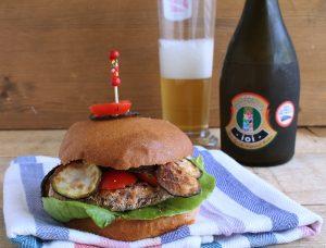 Burger vegan de haricots azuki - La Cassata Celiaca