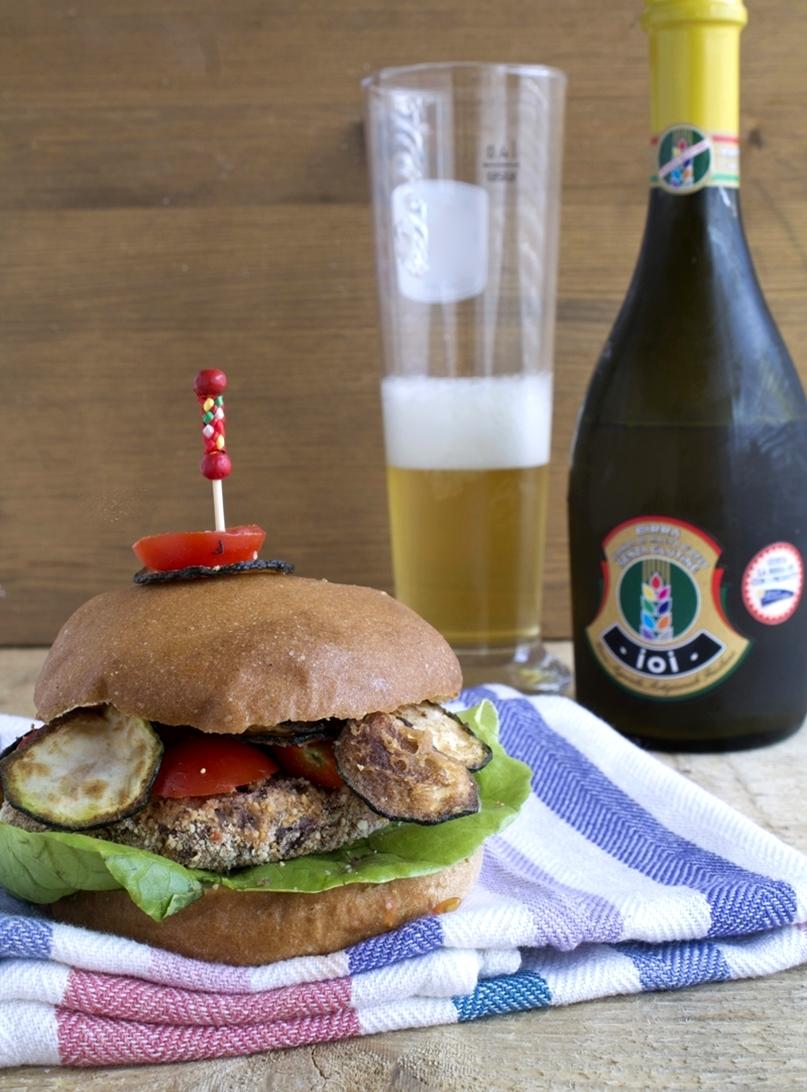 Burger senza glutine per Piaceri Mediterranei - La Cassata Celiaca