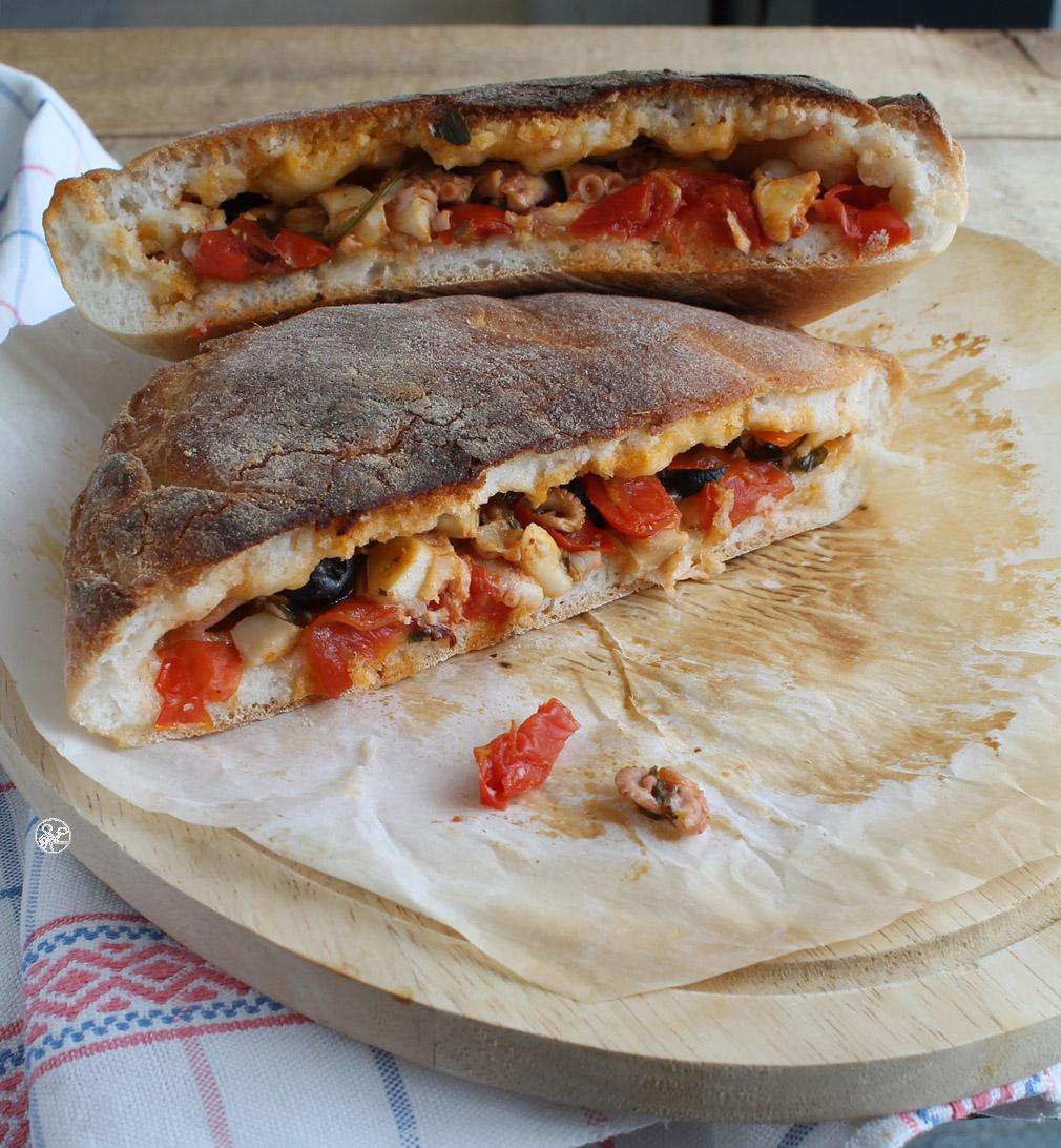 Tiella di Gaeta senza glutine - La Cassata Celiaca