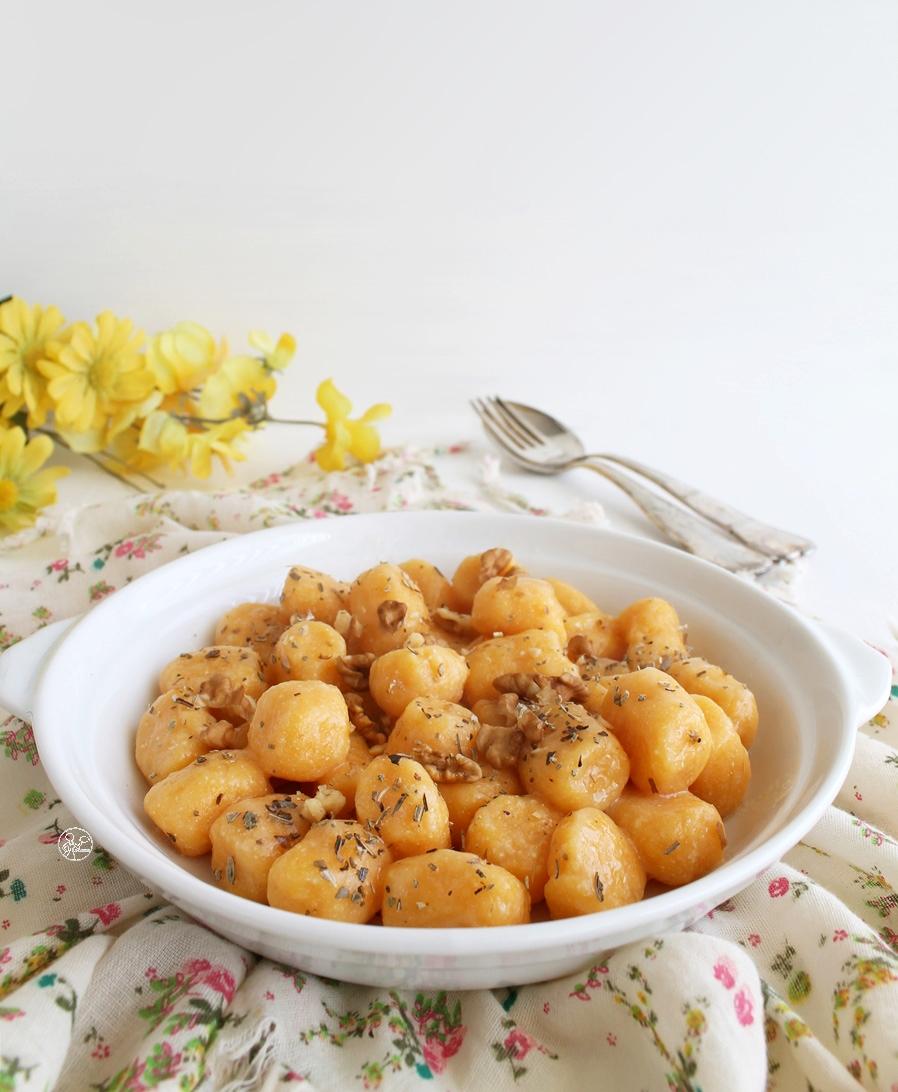 Gnocchi di zucca e ricotta - La Cassata Celiaca