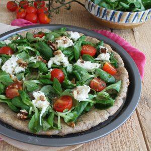Pizza vegetariana senza glutine - La Cassata Celiaca