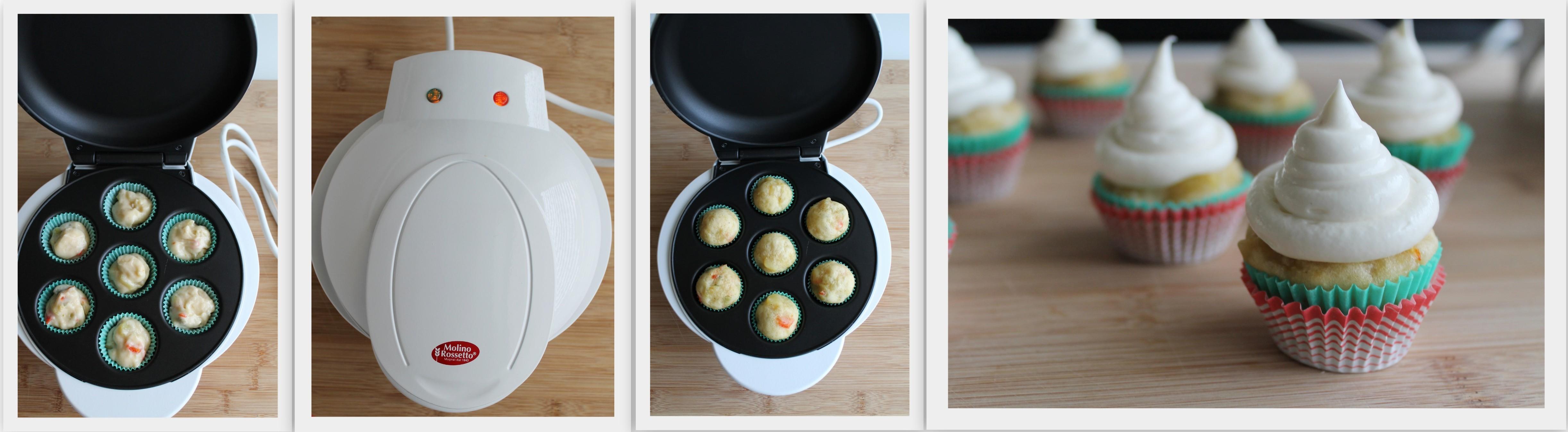 Christmas Cupcakes senza glutine- La Cassata Celiaca