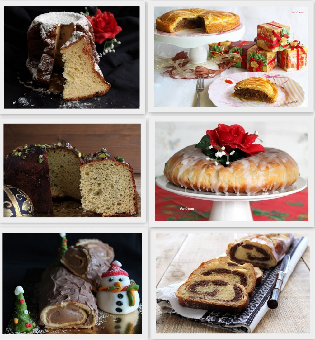 Gâteaux de Noël gluten free et mes meilleurs vœux - La Cassata Celiaca
