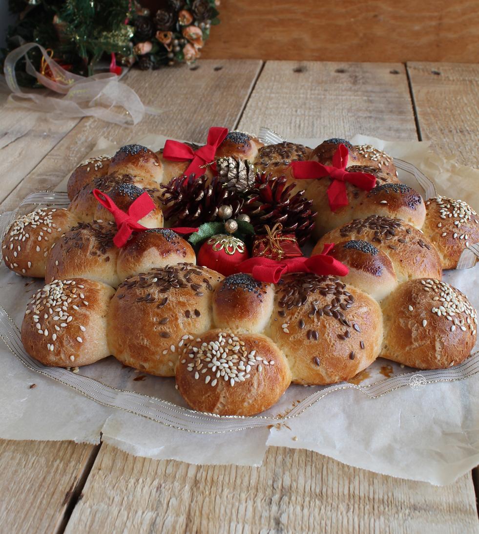 Guirlande de pain sans gluten - La Cassata Celiaca