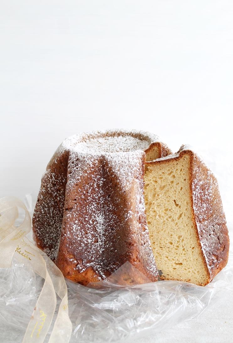 Pandoro con lievito madre senza glutine - La Cassata Celiaca